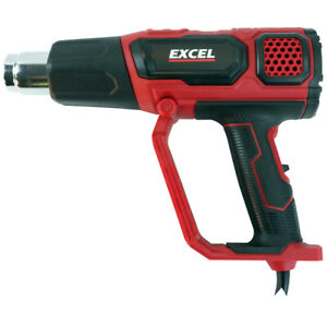 Excel 2000W Professional Hot Air Heat Gun Electric Paint Stripper 2 Temp Setting