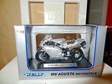 Diecast MV Agusta F4S Motorbike 1:18 (Welly Branded) New & Boxed Sliver
