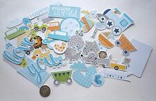SCRAPBOOKING NO 413 - 35 CARD DIE CUTS - BABY BOY  - Scrapbooking & Card Making