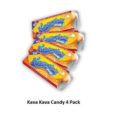 Kava Stress Relief Candy Orange Flavor from Hawaii 4-pack by Ozia Originals
