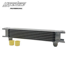 Silver 10AN Aluminum 7 Rows Engine Transmission Oil Cooler AN10 Universal