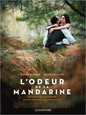 Affiche 120x160cm L'ODEUR DE LA MANDARINE (2015) Gourmet, Georgia Scalliet TBE