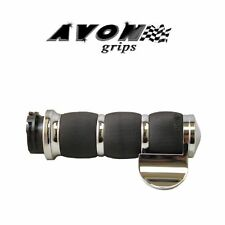 Avon Air Cushion Chrome Motorcycle Grips Throttle Boss Road King Dyna Glide