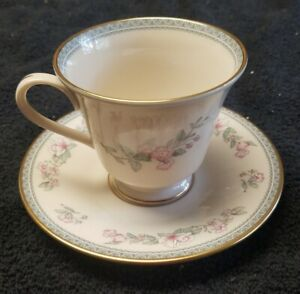 Lenox Serenade Coffee Cup and Saucer