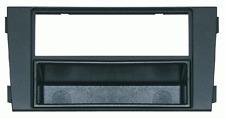 Mascherina con foro ISO-Doppio ISO- Doppio DIN colore nero Audi A6 02>06
