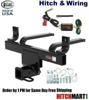 Curt 14090-55540 Trailer Hitch and Wiring Package