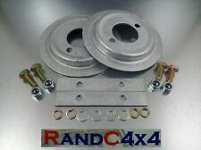 DA1215 Land Rover Discovery 1 Galvanized Rear Spring Seat Base Kit inc Hold down