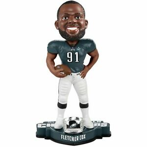 Fletcher Cox Philadelphia Eagles Super Bowl LII Champion Bobblehead NFL