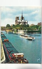 BF30528 paris promenade sur la seine france  ship  front/back image