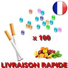 Capsules Billes Cigarettes BOITE Parfumées Menthe 100 PCS Fruit Perles tabac