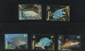 2015 Bermuda Tropical Fish, Mint, never Hinged