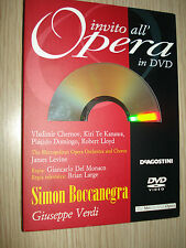 INVITO ALL'OPERA IN DVD N°22 SIMON BOCCANEGRA VERDI METROPOLITAN OPERA ORCHESTRA