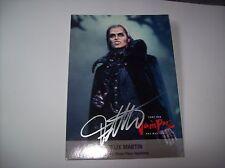 Felix Martin Tanz der Vampire SELTENE Autogrammkarte HANDSIGNIERT !!!