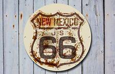 Route 66 Letrero De Metal, coches, American, gas, Clásico, Vintage, Decoración De Garaje, 886