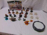 (27) Disney Infinity Video Game Figures Star Wars Pirates of Caribbean w/ dics