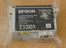 GENUINE EPSON T1301 XL Black cartridge ORIGINAL STAG vacuum sealed ink date 2020
