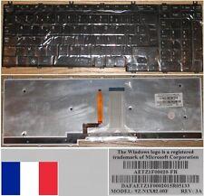 Teclado Azerty Fr TOSHIBA Satellite A500 P505 NSK-TF00F 9Z.N1X82.00F Backlit