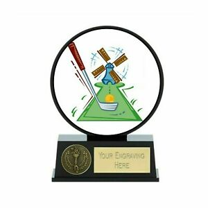 Vibe Crazy Golf Trophy 12 cm with Free Engraving up to 30 Letters