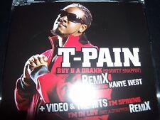 T-Pain Buy u You A Drank (Shawty Snappin) Australian CD Single - New
