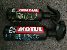 Motul Motorcycle cleaning kit shine & go helmet visor clean