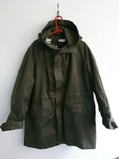 French Army Cold Weather Parka Jacket Coat Olive Green 92C Medium liner 1976