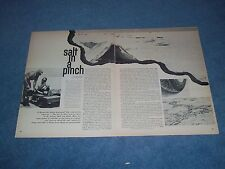 1966 Info Article on the Bonneville Salt Flat and Deterioration by Mining