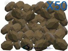 50 X Gas Chargrill Cerámica briquete resistente de larga duración Garland Archway Etc