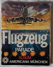 Flugzeug Parade Sammel Album 1971 mit 287 Sticker (24 fehlen) gebraucht selten