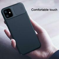 For iPhone 11 / 11 Pro Max Camera Protection Slide Case Matte Back Cover
