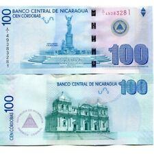 NICARAGUA 100 CORDOBAS 2007 (2012) P-204b UNC