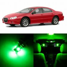 10 x GREEN Interior LED Lights Package For 1998 - 2004 Chrysler Concorde +TOOL