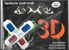 LOUD 3D, Hardcore Rock And Roll 3-d PUNK SCENE Autographed +GLASSES