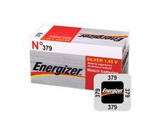 2 x ENERGIZER 379 BATTERY 1.5v SILVER COIN CELL BATTERIES SR63 V379 SR521SW