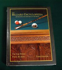 The Billiard Encyclopedia -- Brand New -- Shows Antique Pool Tables