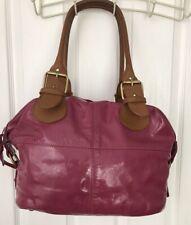 BODEN PINK PATENT LEATHER BAG WITH DUSTBAG. Gorgeous Boden Staple!