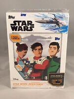 2019 Topps Star Wars Resistance Trading Card Pack Blaster Box Lot + Dangler