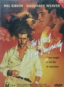 The Year Of Living Dangerously DVD 1982 Mel Gibson - Peter Weir Movie Rare