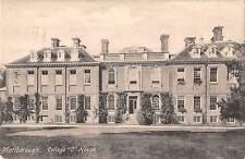 uk18896 college house marlborough real photo uk