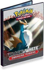 Emerging Powers A5 4 pocket portfolio binder. Pokemon Black & White Cobalion