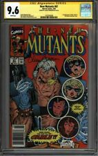 * New MUTANTS #87 CGC 9.6 NEWSSTAND SS Simonson Liefeld 1st Cable (1425593008) *