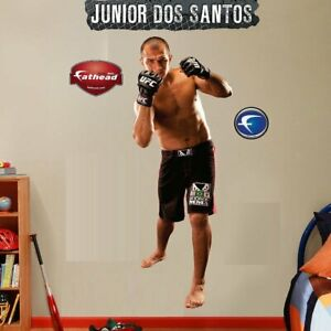 "JUNIOR cigano DOS SANTOS Fathead 2'5"" X 6'4"" UFC MMA REAL BIG - Lifesize only -"