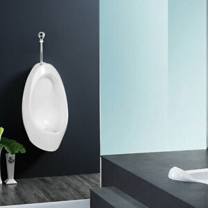 WATERLESS NO-FLUSH URINAL 2104 Waterless Urinal, Wall Mount, White, USA SHIPPING
