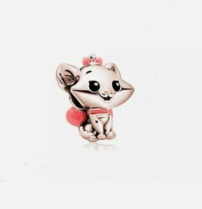 🌟 Rose Gold Disney Marie Cat From The Aristocrats Add On Pandora Bracelet