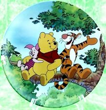 Disney Winnie The Pooh Plate Bradford Fun 100 Acre Woods Tree Top Trio 2nd Plate