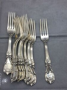 "Reed & Barton ""Burgundy"" Place Fork Sterling Silver"