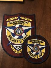 Texas Police -  2 Montgomery Sheriff  Police TX  Police  Patch