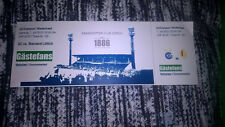 TICKET : GRASSOPHER CLUB ZURICH - STANDARD DE LIEGE 07-07-2012 AMICAL