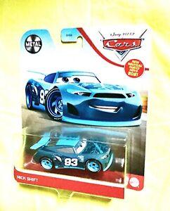 Disney Pixar Cars Nick Shift's #93 Sparemint Race Car * 2021 Metal Series New