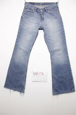 Levis 516 flare bootcut raccourci jeans d'occassion Cod.U618 Tg.43 W29 L34 homme