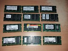 job lot laptop memory sodim 12 x ddr 1 -  pc2700 - pc2100 - pc133